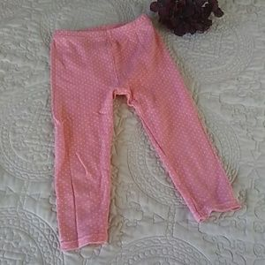 Girl's Polka Dot Stretch Pant